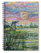 Animism Mist Medley Spiral Notebook