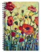 Anitas Poppies Spiral Notebook
