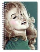 Ann Margret, Patio Diet Cola, Bye, Bye Birdie, Sterling Cooper Pryce, Mad Men Spiral Notebook
