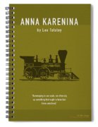 Anna Karenina By Leo Tolstoy Greatest Books Ever Series 024 Spiral Notebook