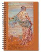 Annabel Lee James Abbott Mcneill Whistler Spiral Notebook