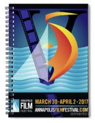 Annapolis Film Festival 2017 Spiral Notebook