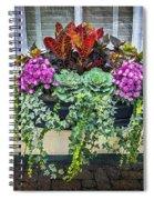 Annapolis Flower Box Spiral Notebook