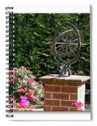 Annapolis Garden Ornament Spiral Notebook