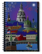 Annapolis Holiday With Title Spiral Notebook