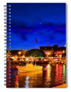 Annapolis Magic Night Spiral Notebook