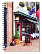 Annapolis Md - Restaurant On State Circle Spiral Notebook