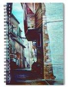 Anna's Street Spiral Notebook
