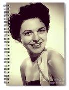 Anne Bancroft, Vintage Actress Spiral Notebook