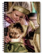 Anne Of Cleves With Prince Edward Spiral Notebook