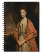 Anne Seymour Damer  Spiral Notebook