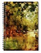Annecy France Pont Des Amours Spiral Notebook