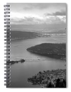 Annecy Lake Spiral Notebook