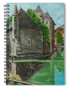 Annecy-the Venice Of France Spiral Notebook