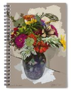 Anne's Flowers Spiral Notebook