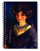 Annie Geg 1925 Spiral Notebook