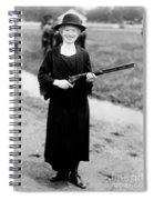 Annie Oakley, American Folk Hero Spiral Notebook