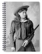 Annie Oakley Spiral Notebook