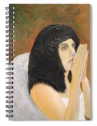 Annolita Praying Spiral Notebook