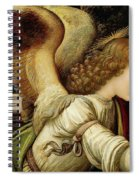 Announcing Angel, Detail From Annunciation Spiral Notebook