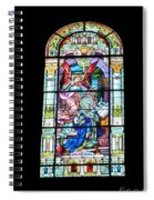 Annuciation Of Virgin Mary Mother Most Holy Spiral Notebook