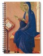 Annunciation Fragment 1311 Spiral Notebook