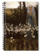 Annunciation Spiral Notebook