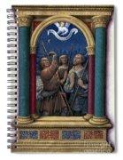 Annunciation To Shepherds Spiral Notebook
