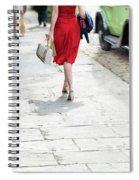 Anonymous 1940s Woman  Spiral Notebook