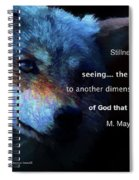 Another Dimension Spiral Notebook