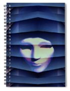 Another Face In The Crowd Spiral Notebook