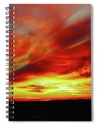 Another Illinois Sunset Spiral Notebook