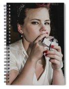Another Light Spiral Notebook