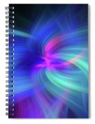 Another Space. Mystery Of Colors Spiral Notebook