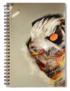Pow Wow Another World Another Time Spiral Notebook