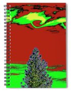 Another World On Earth Spiral Notebook