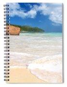 Anse Lazio Spiral Notebook