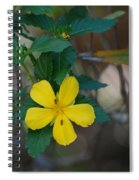 Ant Flowers Spiral Notebook