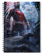 Ant Man 2015 Spiral Notebook