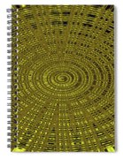 Ant Nest Abstract Fabric Design # 2 Spiral Notebook