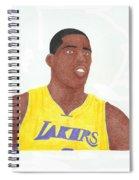 Antawn Jamison Spiral Notebook