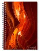 Antelope Canyon Wavy Abstract Spiral Notebook