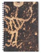 Antelope Petroglyph Spiral Notebook