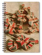Anthem Of Old England Spiral Notebook