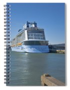 Anthem Of The Seas Southampton Spiral Notebook
