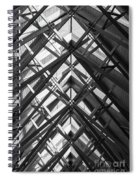 Anthony Skylights Grayscale Spiral Notebook