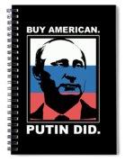 Anti Trump Art Impeach President Resist Putin Dark Spiral Notebook