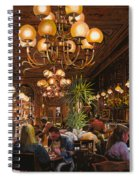 Antica Brasserie Spiral Notebook