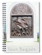 Antietam Irish Brigade Spiral Notebook