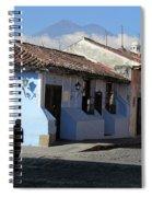 Antigua Guatemala Streetscene Spiral Notebook